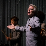 David Byrne at Shrine Auditorium -- Photo: ZB Images