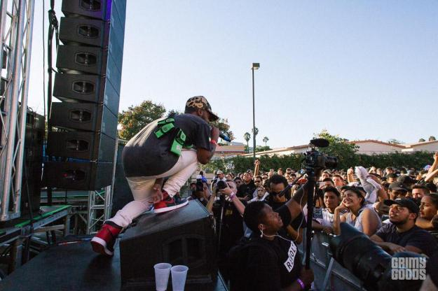 Madeintoyo at Fool\'s Gold Day Off at Shrine LA