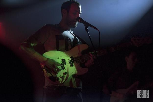 Viet Cong, The Echoplex, photo by Wes Marsala