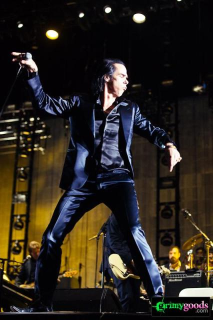 Nick Cave Bad Seeds photos Coachella