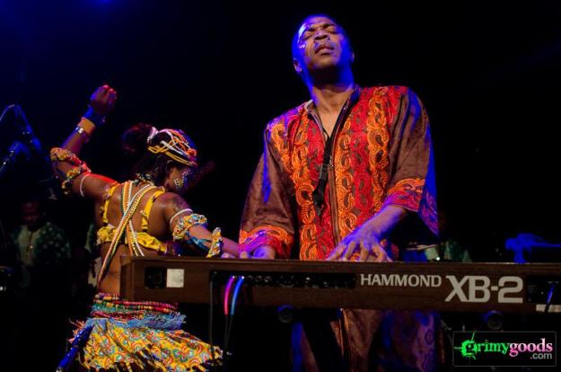 Femi-Kuti and the Positive Force at the El Rey 1/18/13