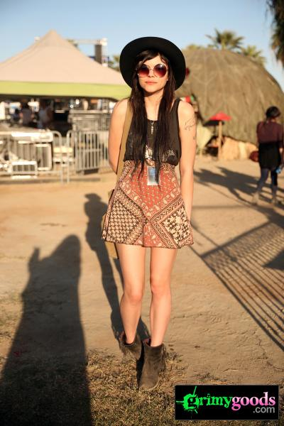 Festival Style at Desert Daze on April 20, 2013