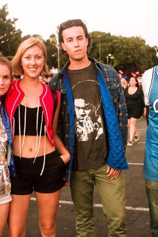 FYF Fest 2014 fashion photos