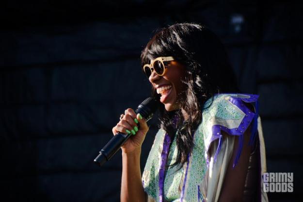 UCLA Jazz Reggae Festival photos santigold
