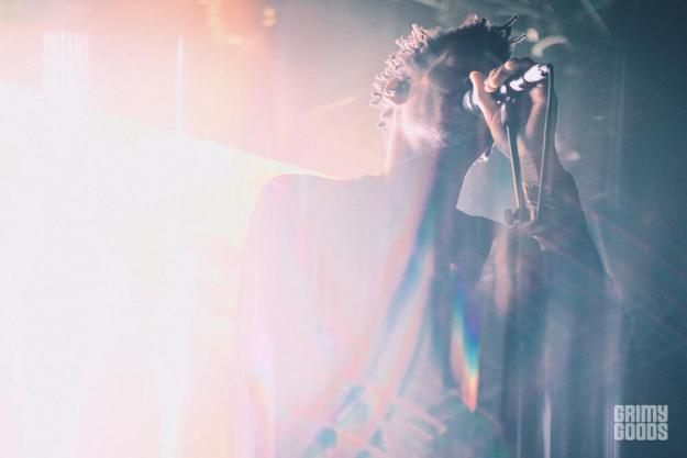 Massive Attack Greek Theatre photos