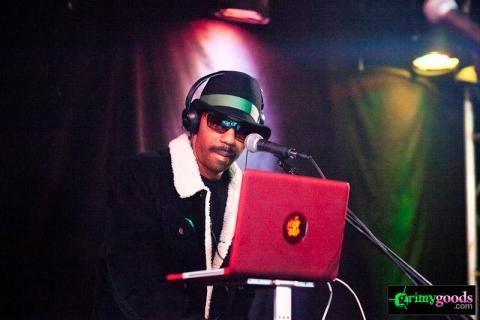 Dam Funk with Nite Jewel at Slidebar – Photos
