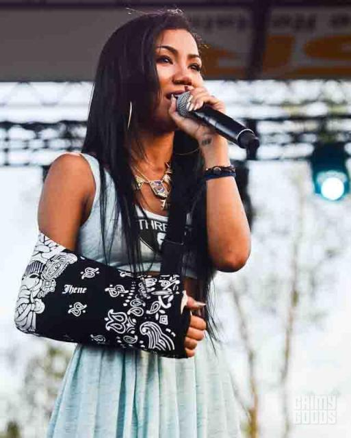 jhene aiko photos rock the bells photos