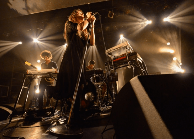 Bosnian Rainbows live photos