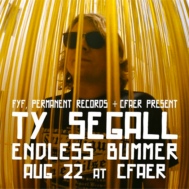 Ty Segall at Center for the Arts Eagle Rock