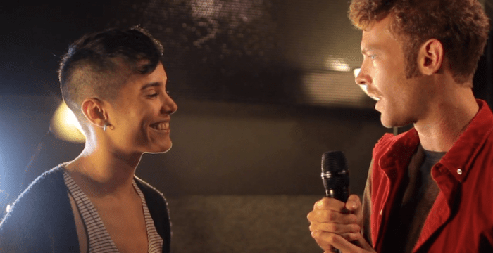 Kera and the Lesbians Grimy Tv Interview