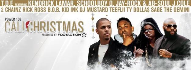 Cali Christmas tickets