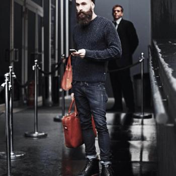 Rick Hall Model bearded man