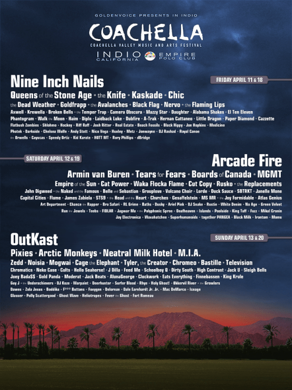 fake 2014 coachella line up poster