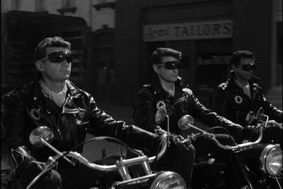 TWilight zone leather jacket gang