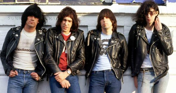 The Ramones schott perfecto leather jackets