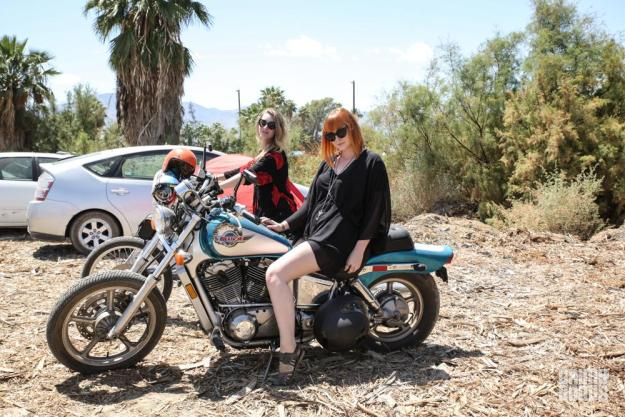 babes on motorcycles