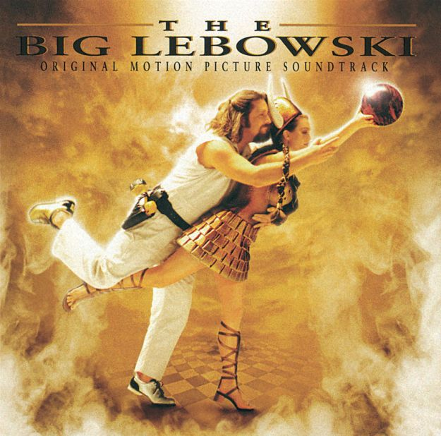 The Big Lebowski Soundtrack Cover Art