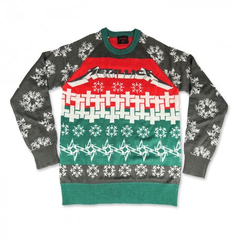 Metallica Master of Puppets Ugly Christmas Sweater