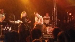Jack Antonoff of Bleachers and Elle King at Stubbs.