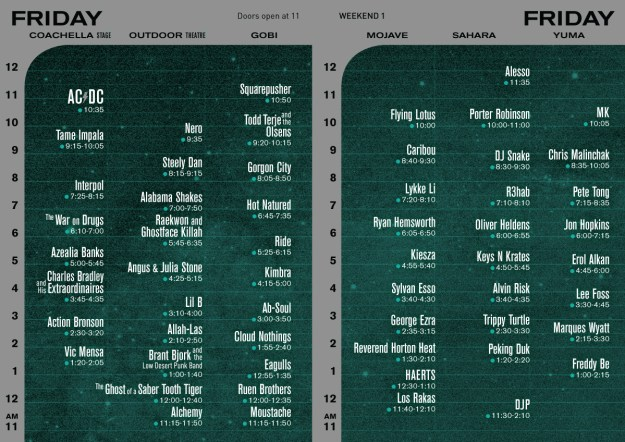 coachella set times 2015