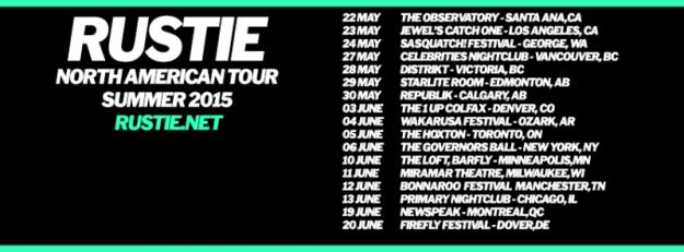 Rustie North American Tour Dates