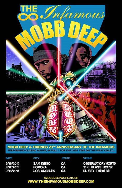 Mobb Deep The Infamous Flyer