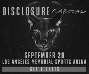 9/28- Disclosure @ L.A. Memorial Sports Arena