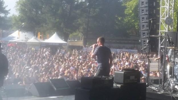 Scott Weiland at BottleRock Napa 2015