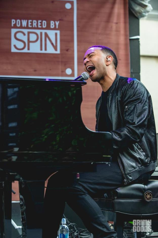 John Legend at SXSW showcase shot by Maggie Boyd