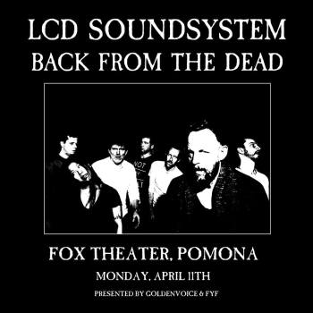 lcd soundsystem fox theater