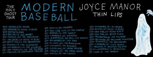 Modern Baseball Tour Dates photo