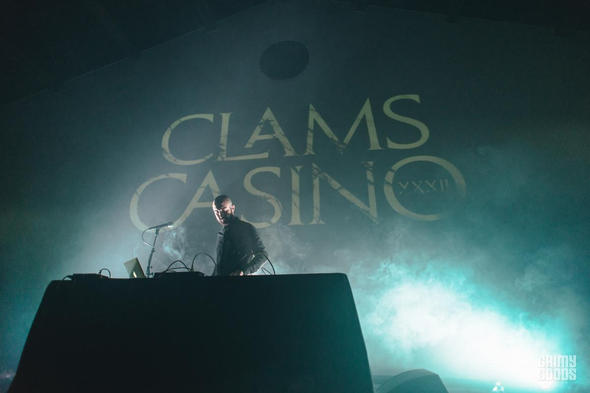 clams casino tour