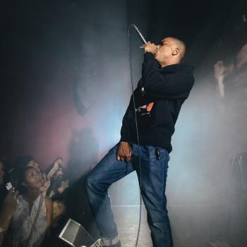 Vince Staples with Clams Casino at Hollywood Forever
