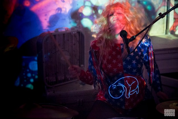 Julie Edwards of Deap Vally as The Smell