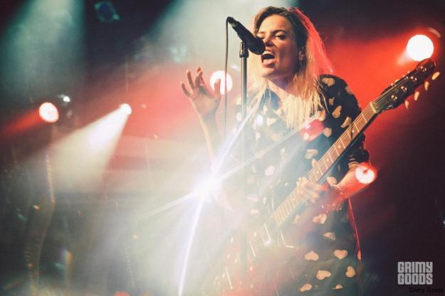 Alison Mossheart of The Kills at the El Rey