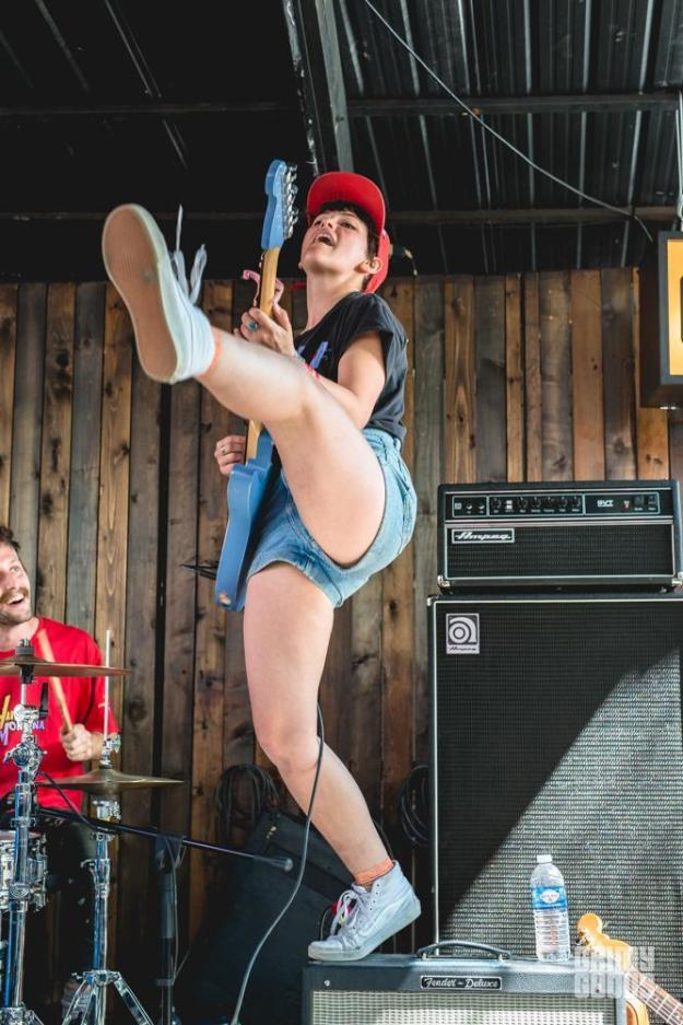 Alex Luciano of Diet Cig at SXSW
