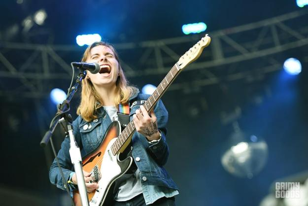 Julien Baker at Outside Lands 2016 photos