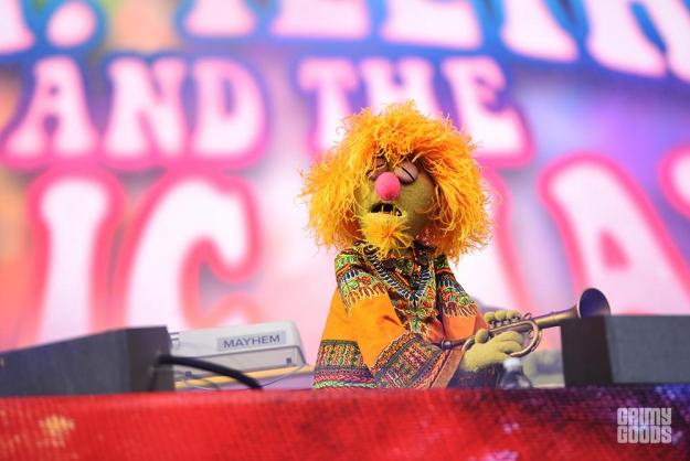 Muppets at Outside Lands Music Festival photos