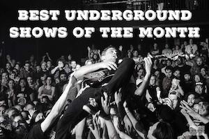 Best Underground LA shows
