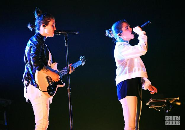 Tegan and Sara at the Wiltern