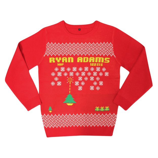Ryan Adams descendents ugly christmas sweater