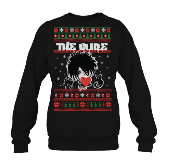 The Cure ugly christmas sweater