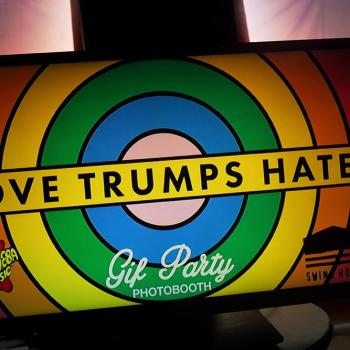 Love Trumps Hate benefit