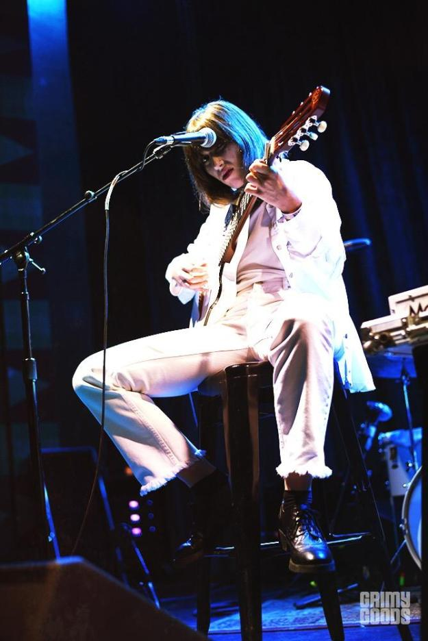 Aldous Harding at the Regent shot by Danielle Gornbein