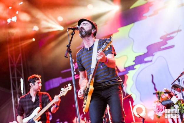 The Shins at Arroyo Seco Festival shot by Danielle Gornbein