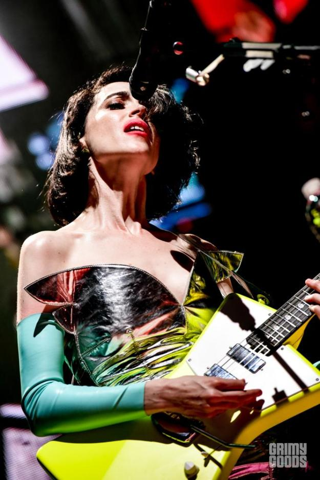 St. Vincent at Paramount Studios shot by Danielle Gornbein
