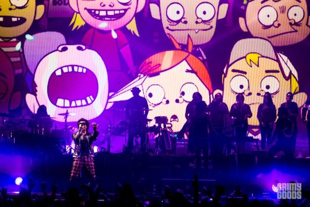 Gorillaz at the Forum -- Photo: Wes Marsala