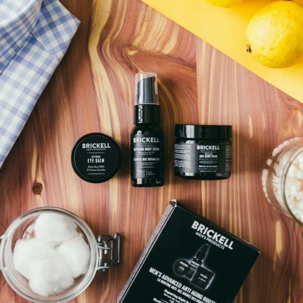 Brickell Men's Skin Care Products