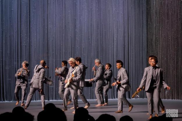 David Byrne at Shrine Auditorium los angeles