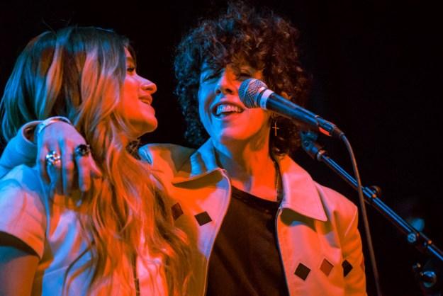 Lauren Ruth Ward with LP at El Rey